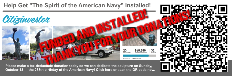 Help Get The Spirit of the American Navy Installed